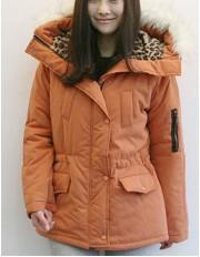 Удобная куртка-пуховик